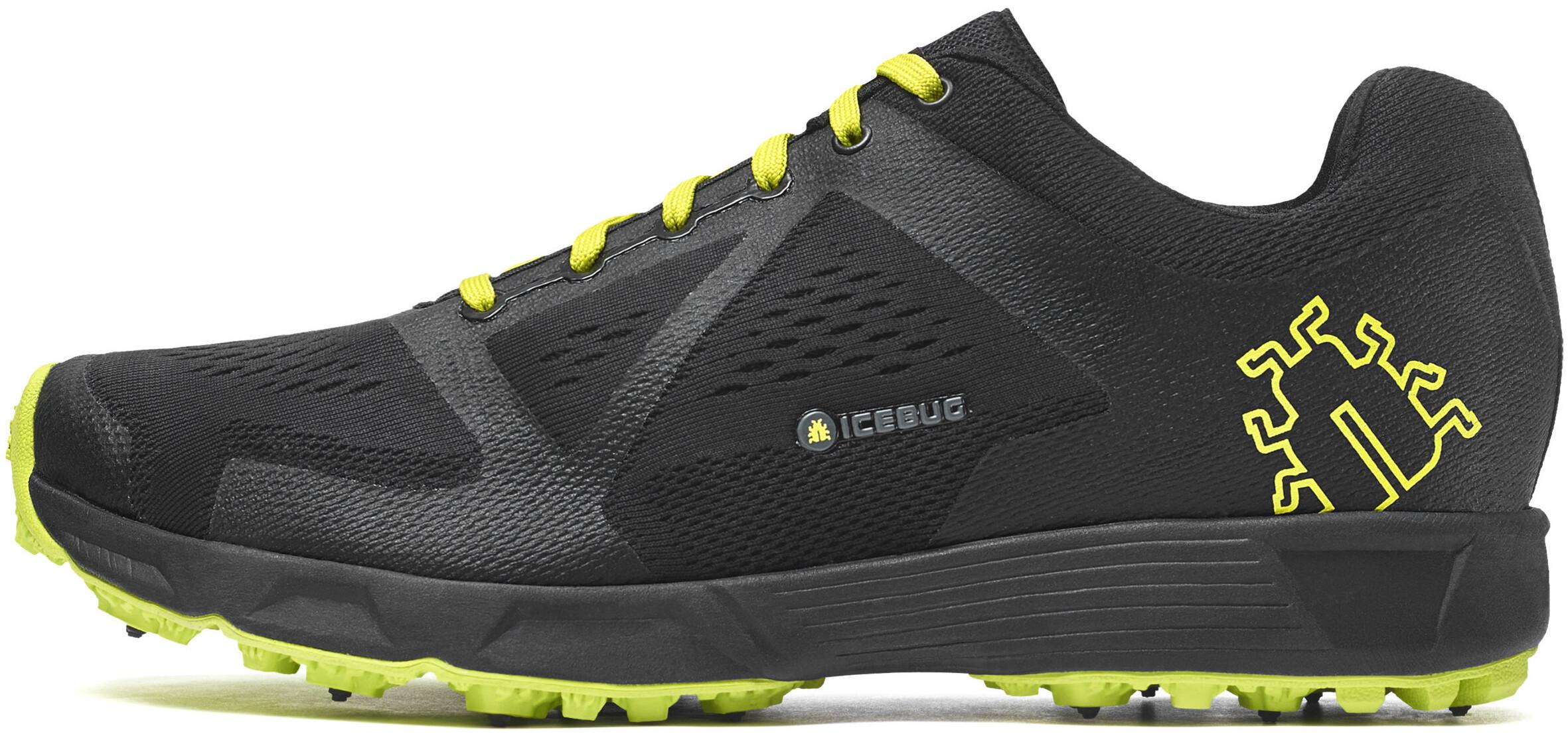 a3d2b8b0780 Icebug W´s Kayi3 BUGrip Shoes Black/DkLime - addnature.com
